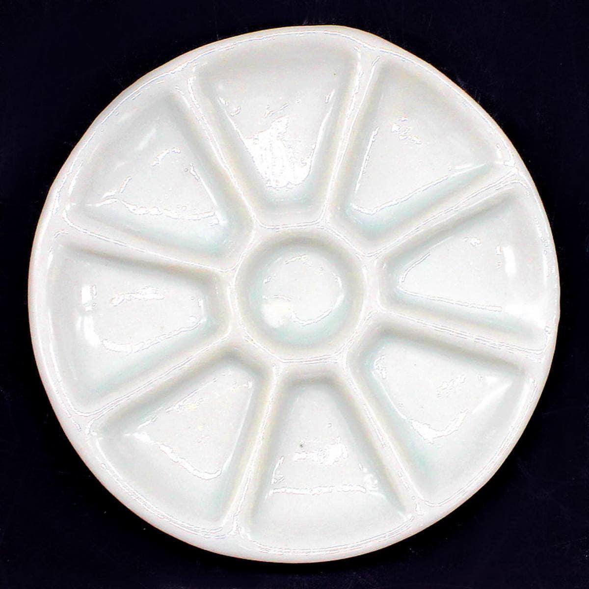 Miniature Ceramic 9in1 Plate Round Shape