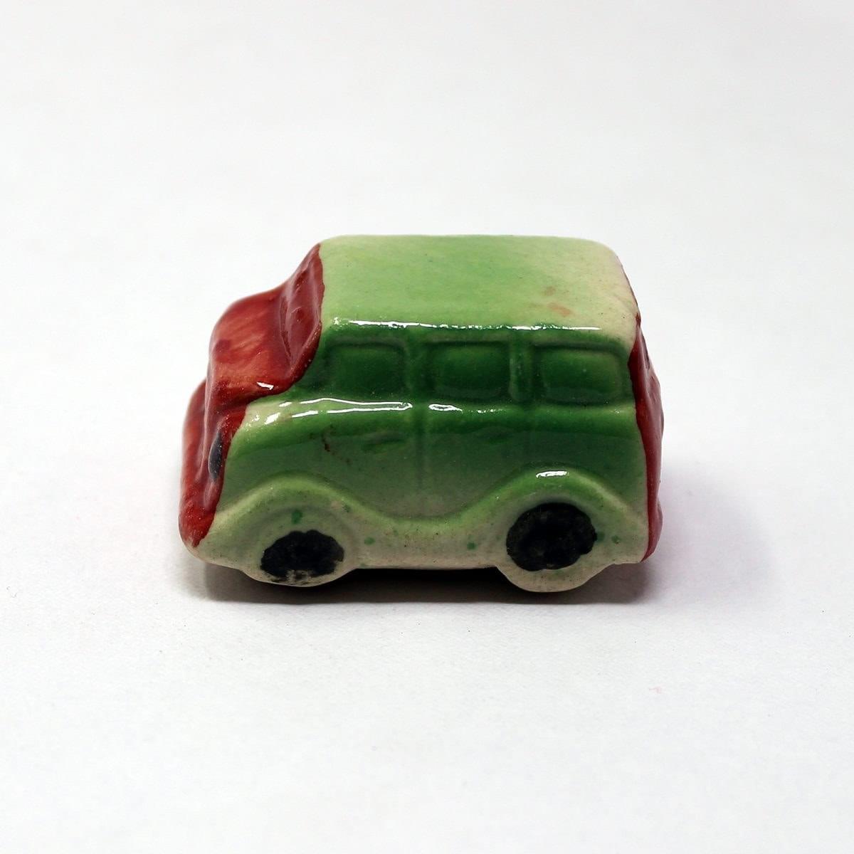 Miniature Ceramic Car Multi Colour