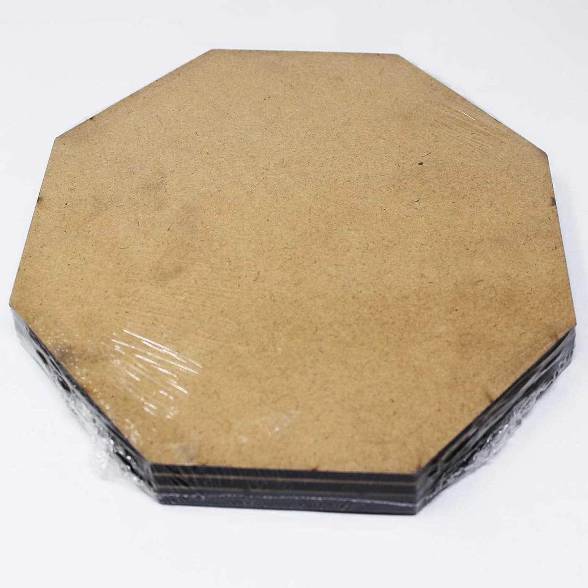 MDF Plate Hexagon Shape