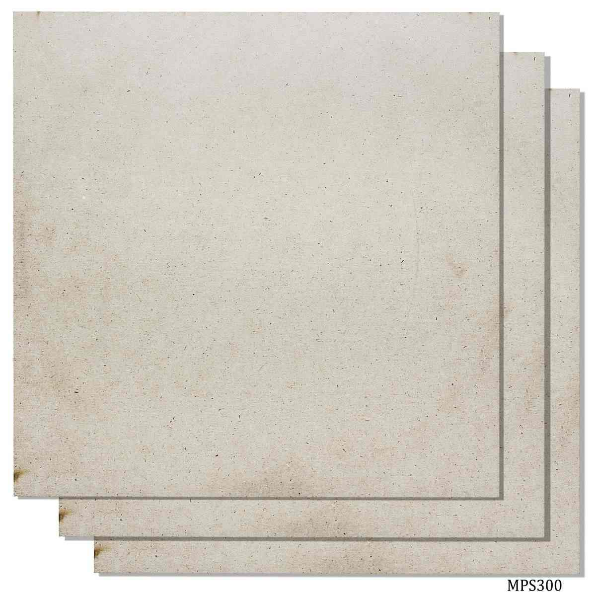 MDF Wooden Plate Square Shape (Pack of 4) (3x3 Inch) (4MM Thick)