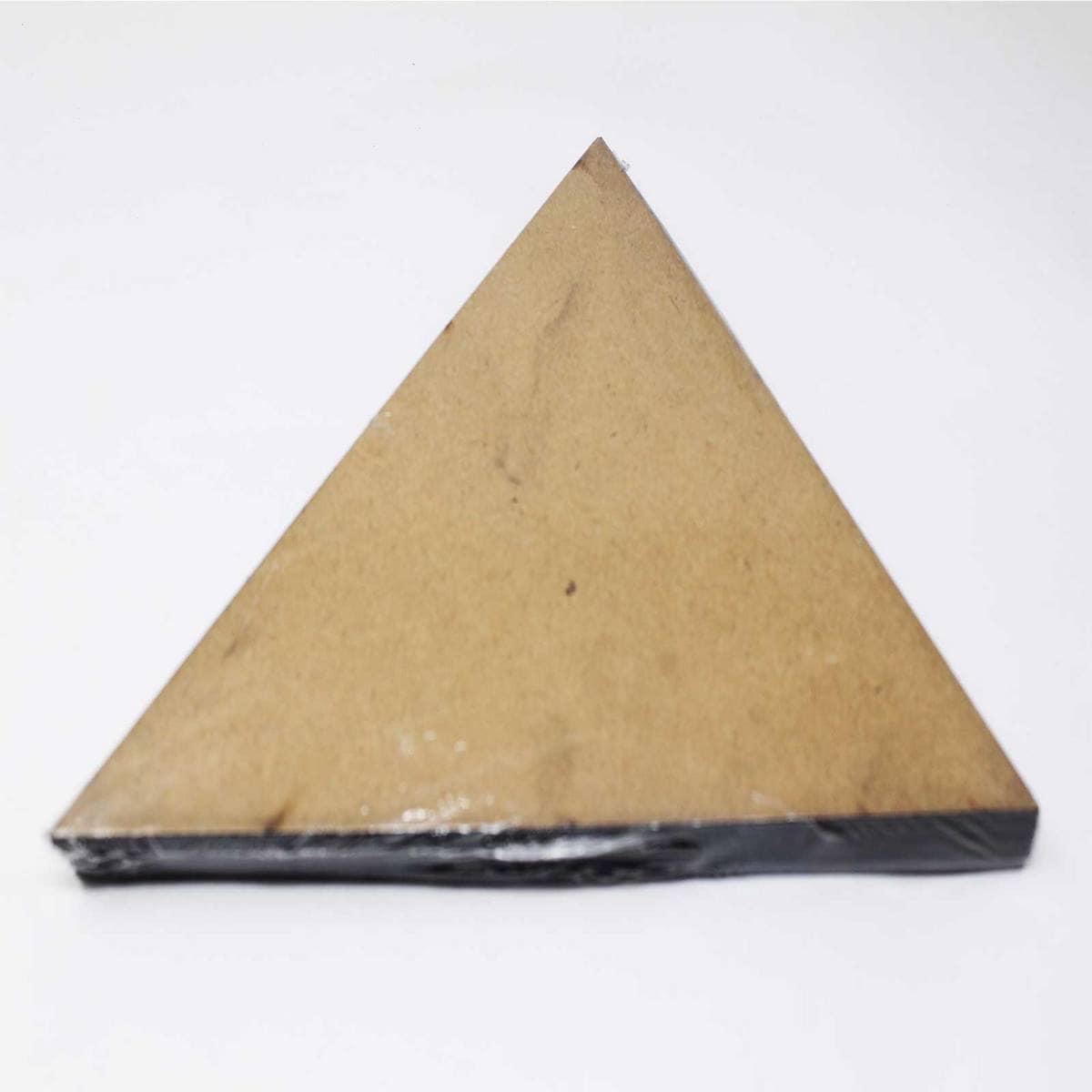 MDF Plate Triangle Shape