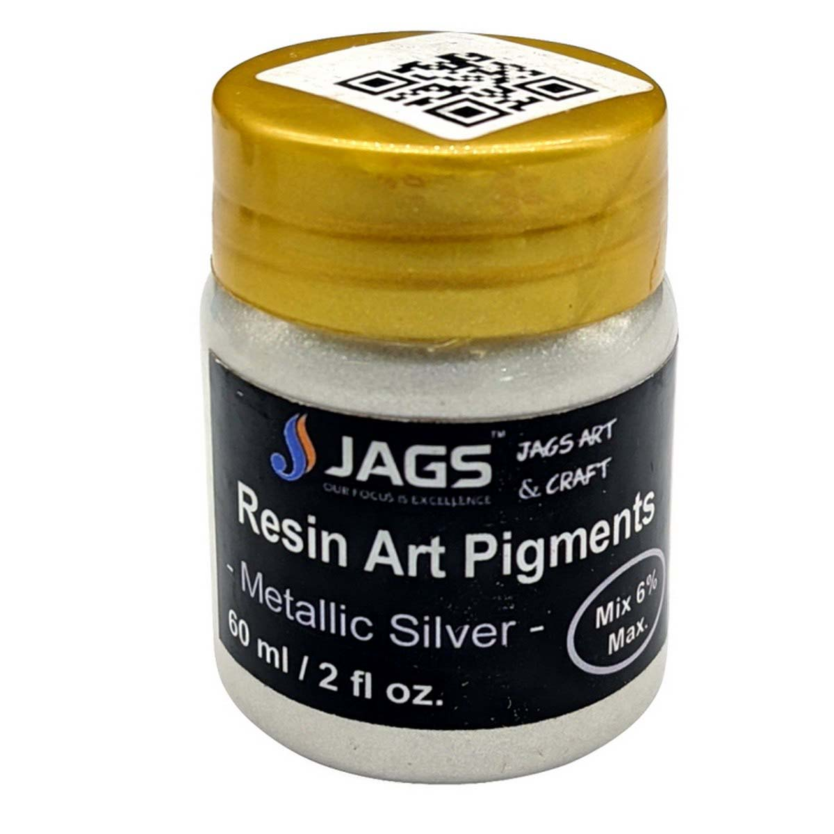 Resin Art Pigments Metallic Silver