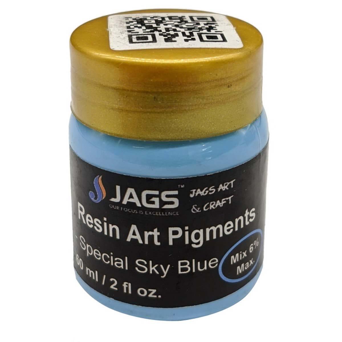 Resin Art Pigments Sky Blue