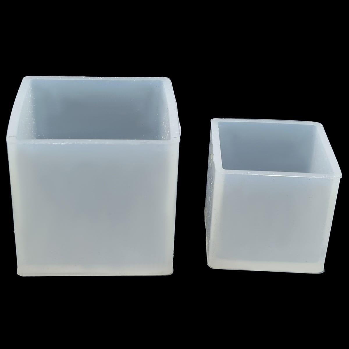 Silicone Mould 2 Pcs Set - Cube
