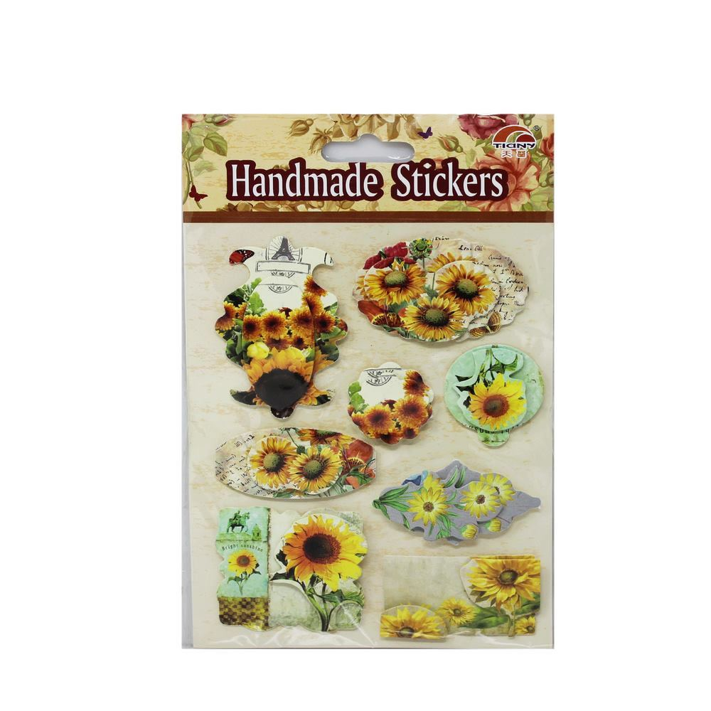 3D Stickers Floral Design