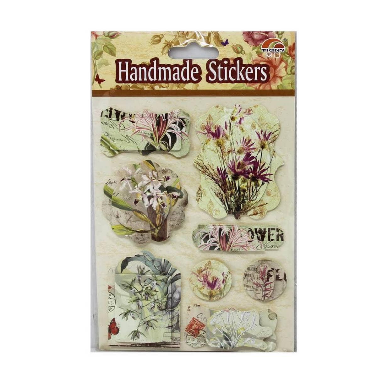 3D Stickers Floral Design