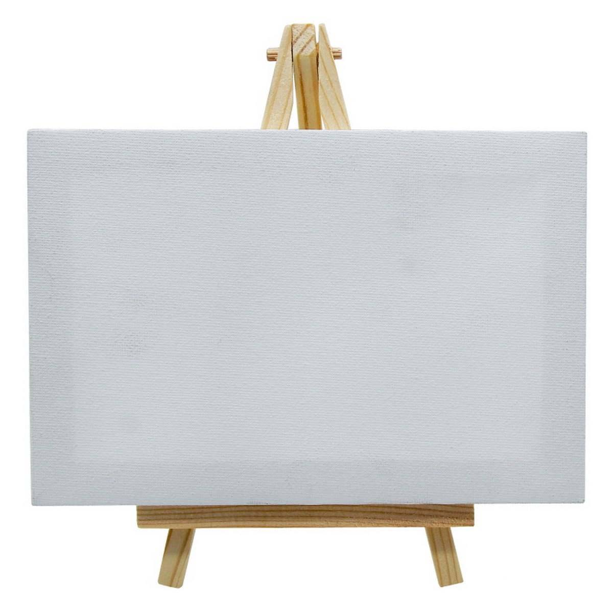 Mini Stretched Canvas With Easel (4.5x7 Inch)