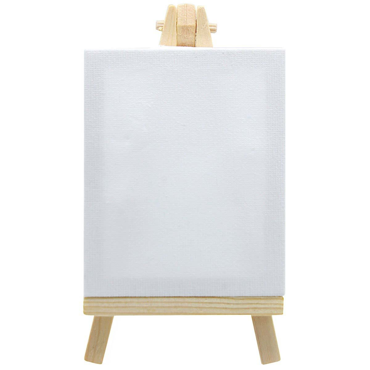 Mini Stretched Canvas With Easel (3x4 Inch)