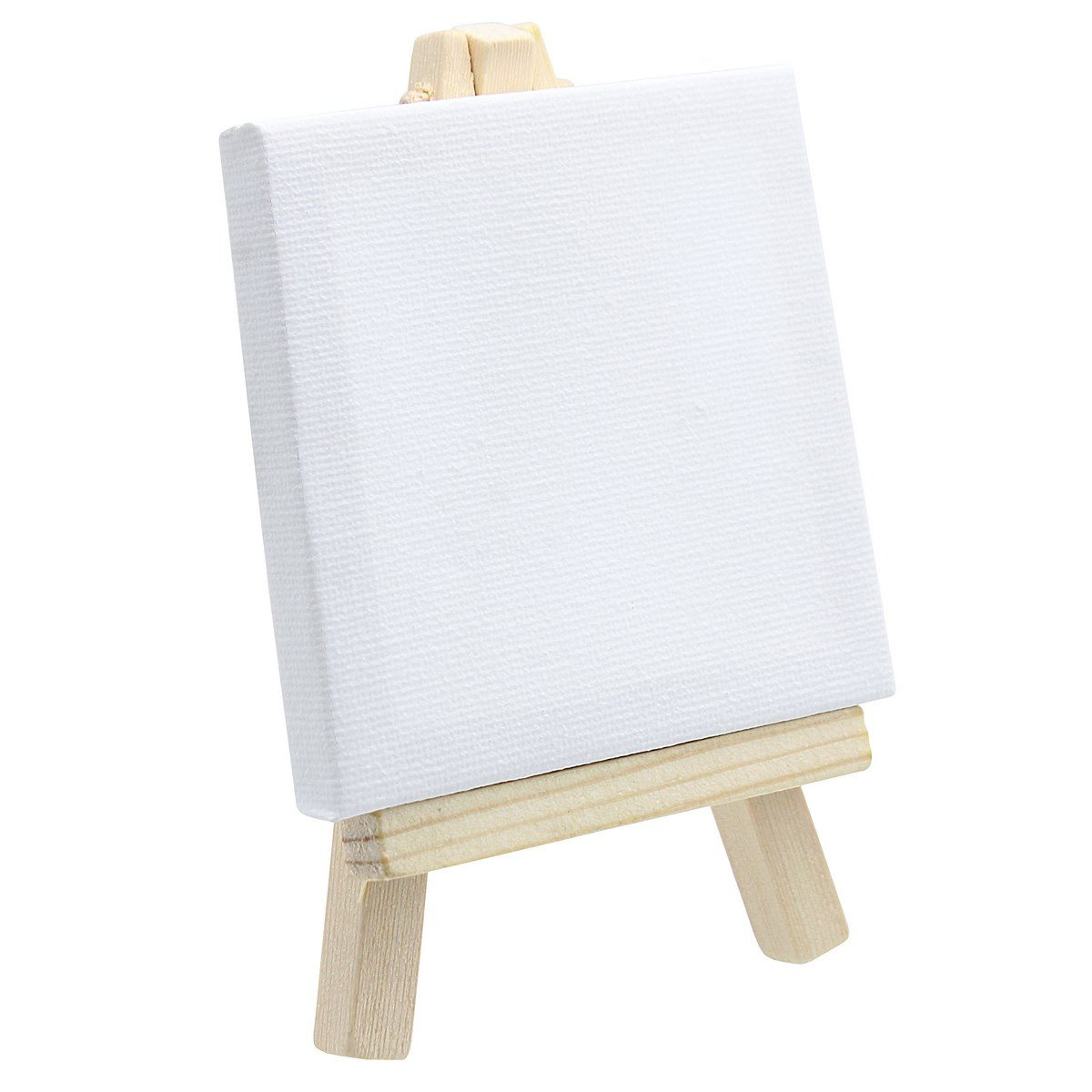 Mini Stretched Canvas With Easel (3x3 Inch)