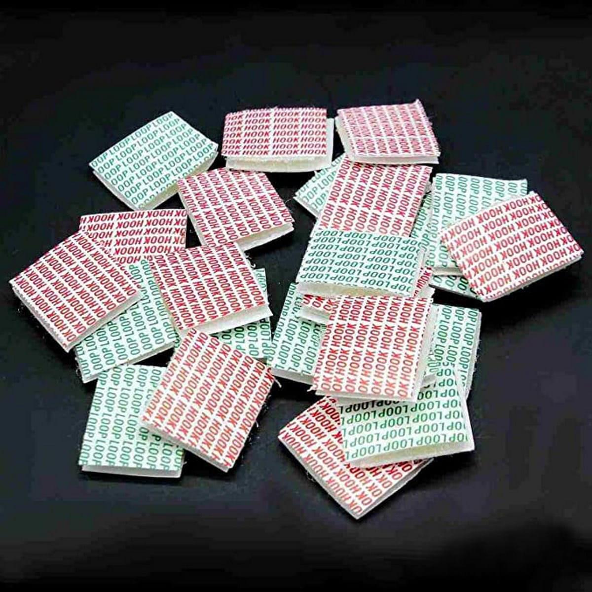 Square Velcro Sticker