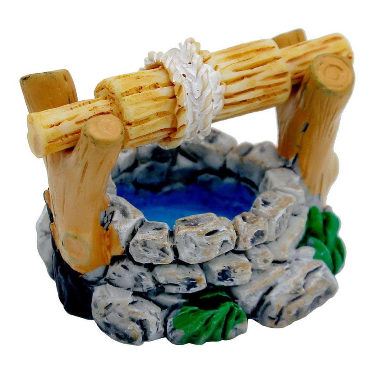 Miniature Ceramic Well Multi Colour