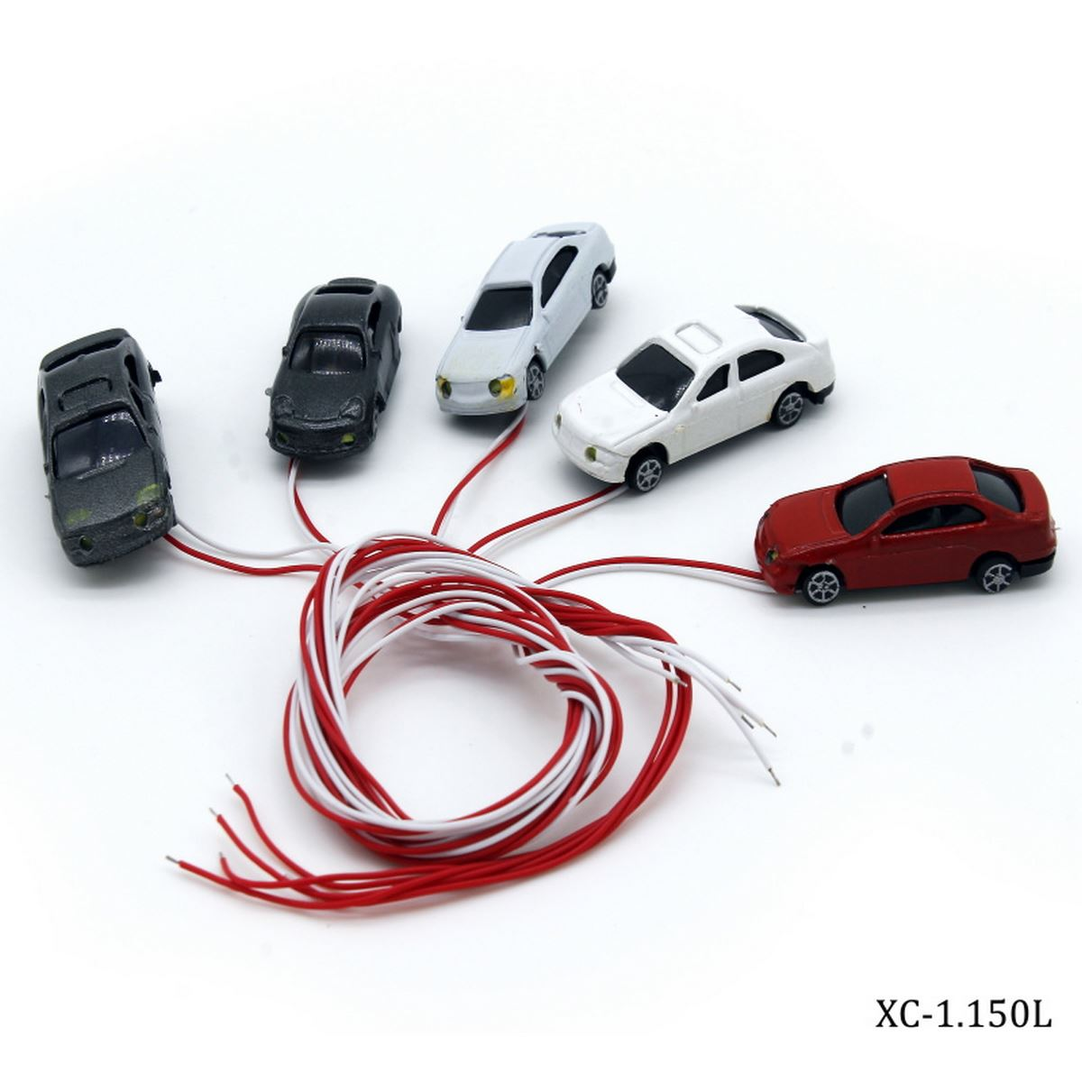 Miniature Car With Lights