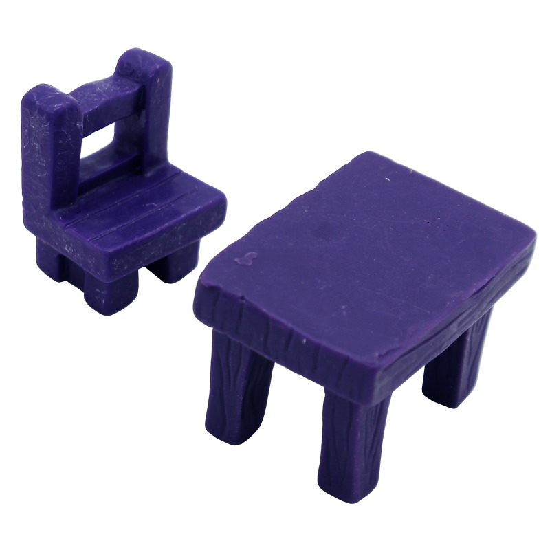 Miniature Table & Bench