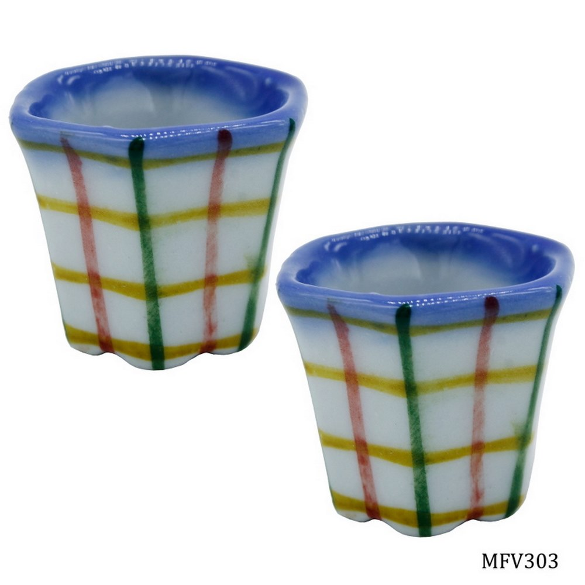 Miniature Ceramic Flower Vase Shape