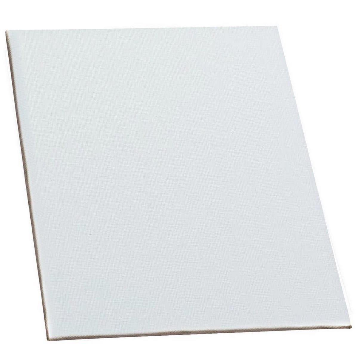 MDF White Canvas Board Size: 22.9 X 30.5 cm (9x12 Inches)